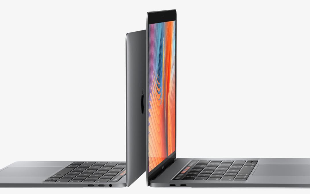 Das neue Macbook pro von Apple hat etwas Besonderes