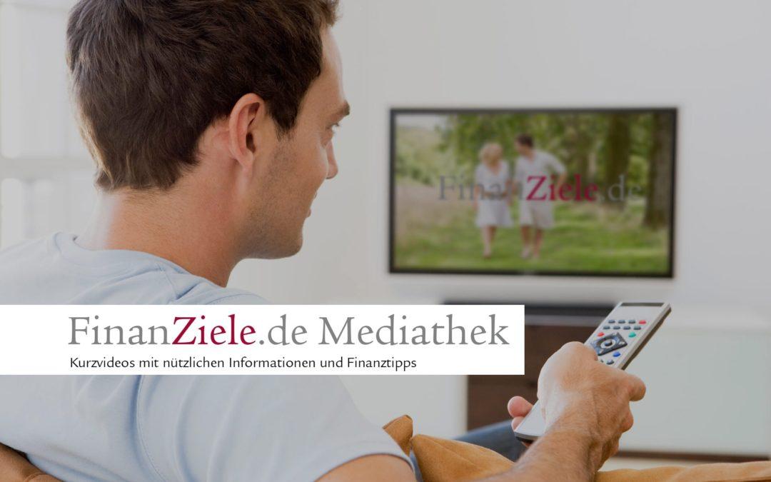 Die FinanZiele Mediathek ist online